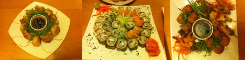 Las cenas armadas de Kudasaru Sushi 3