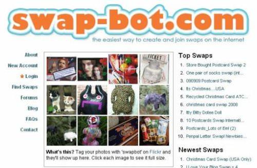 Swap-bot.com: intercambio de colecciones 1