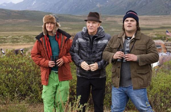 The Big Year con Owen Wilson, Jack Black y Steve Martin 1