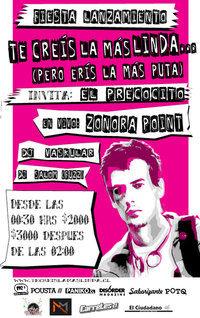 """Fiesta Lanzamiento """"Te Creis La Mas Linda... (Pero Eris La Mas Puta)"""" 3"""