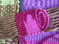 Taller de técnicas textiles en telar 3