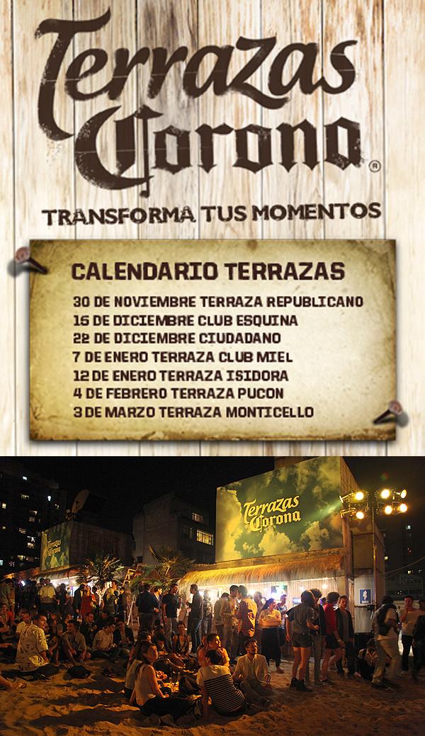 Terrazas Corona, Leo Quinteros en vivo 3