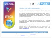 Orientación vocacional: Test de Kuder gratis online 1