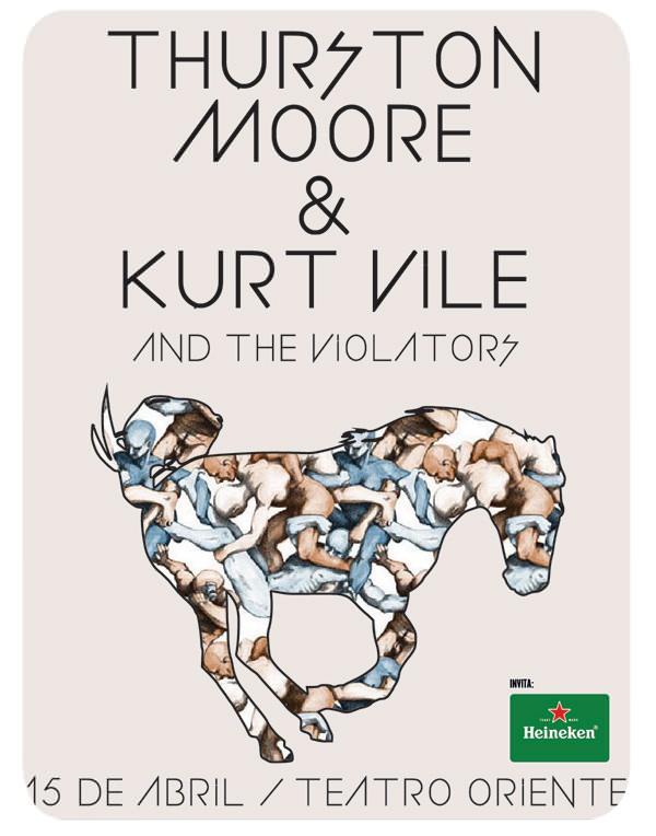 Concurso: Thurston Moore + Kurt Vile & The Violators en Teatro Oriente 3