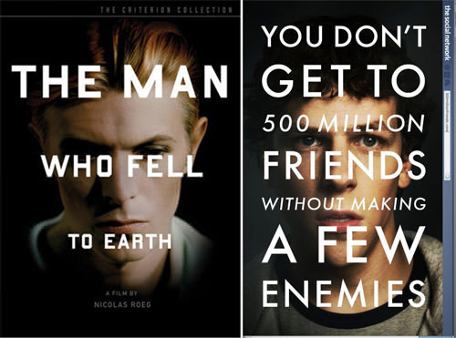 The Social Network y The Man Who Fell To Earth 3