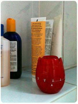 Una pequeña ayuda: timer en el baño 1