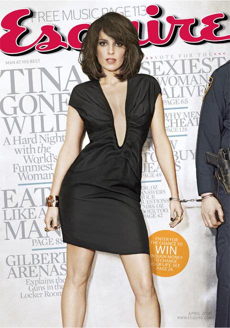 Tina Fey en revista Esquire: mina 10