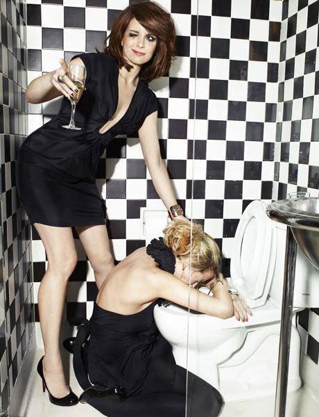 Tina Fey en revista Esquire: mina 9