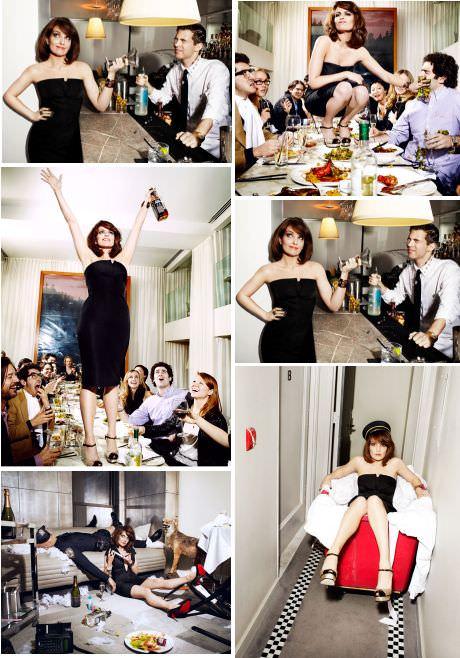 Tina Fey en revista Esquire: mina 11