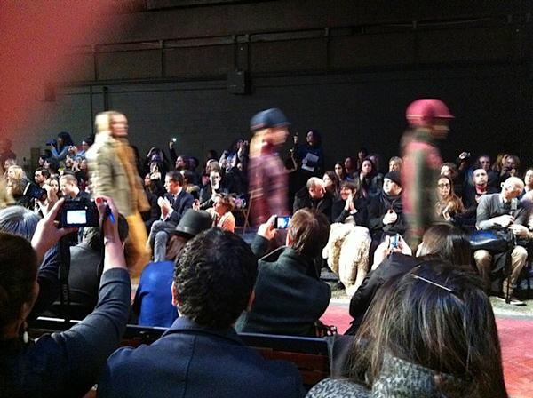 Recuento y backstage en la semana de la moda de Nueva York Otoño Invierno 2012 5