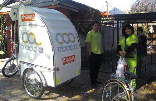 Tricicla: reciclaje sobre ruedas en Las Condes 1