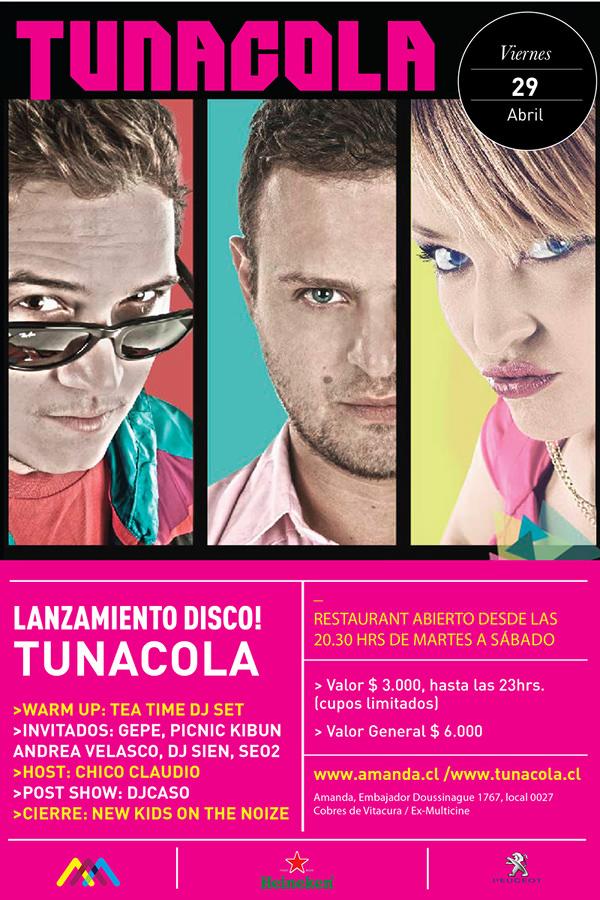 VIE/29/04 Lanzamiento disco Tunacola 3
