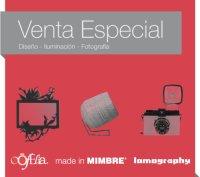 Venta Made in MIMBRE, Lomography y oOfelia 3