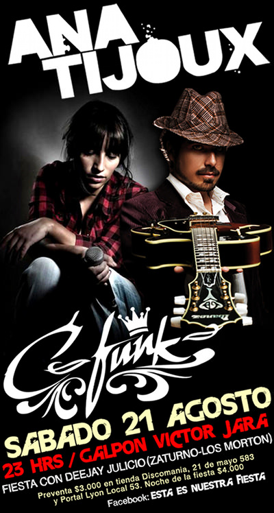 SAB/21/08 Anita Tijoux + C-Funk 3