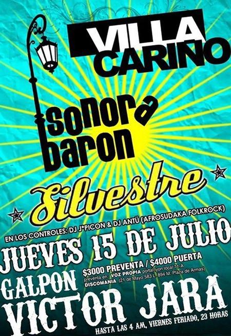 JUE/15/07 Villa Cariño, Sonora Barón y Silvestre en vivo 3