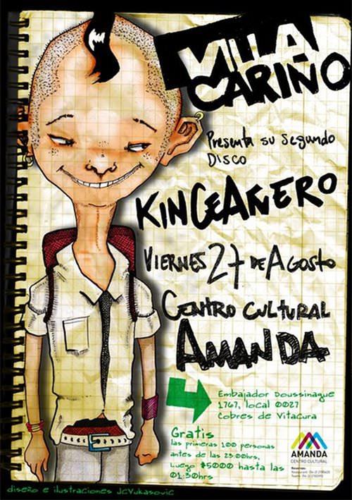 VIE/27/08 Villa Cariño en vivo 1