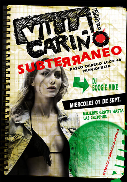 MIE/01/09 Villa Cariño en vivo 1