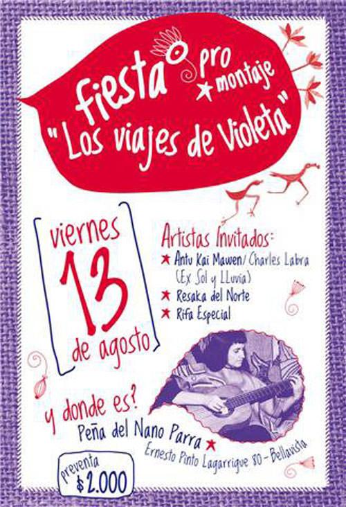 """VIE/13/08 Fiesta por-montaje """"Los Viajes de Violeta"""" 3"""