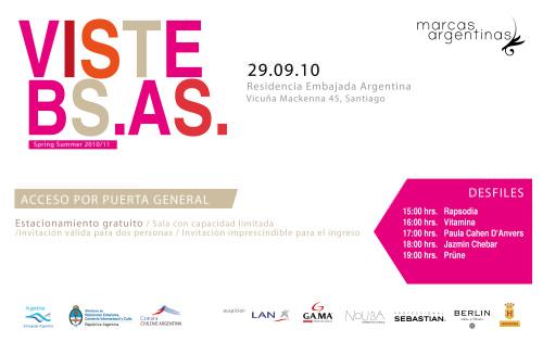 VISTE BS. AS.: desfile de marcas argentinas gratuito 3