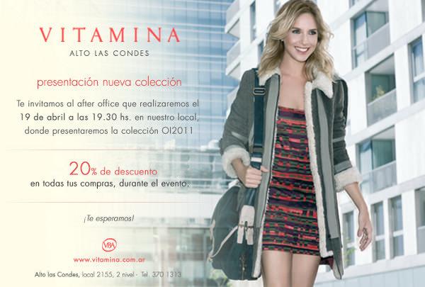 Lanzamiento colección OI2011 Vitamina (+ descuento y sorteo) 1