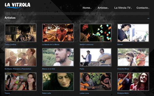 Lavitrola.cl, música y videos 3