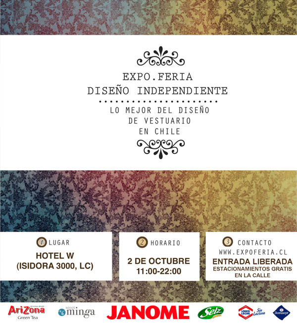 IV Expoferia Diseño Independiente en Hotel W Santiago + Sunset Party Multicolor 1