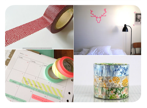 Algunas ideas con washi tape  3