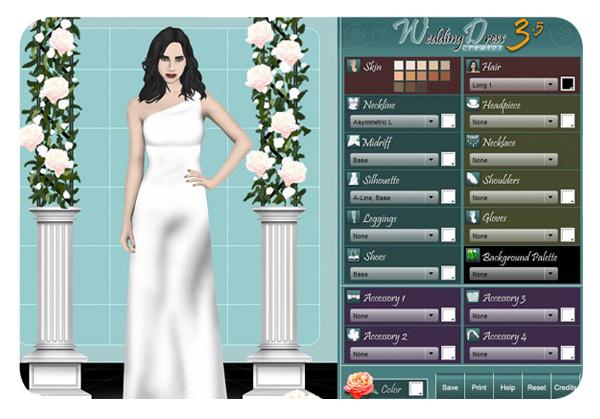 Diseñar vestidos de novia en internet 3