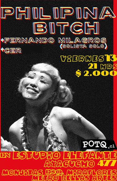 VIE/13/08 Philipina Bitch en vivo, junto a Fernando Milagros 3