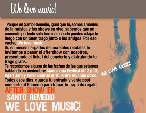 We Love Music en Santo Remedio  3