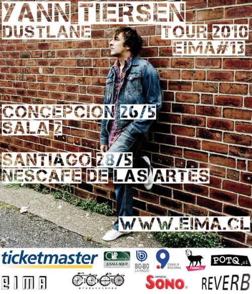 Yann Tiersen en Chile: también en Concepción! 1