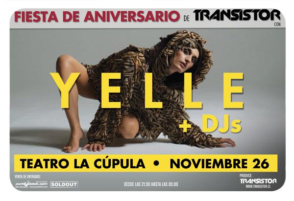 Yelle en Chile + concurso 1