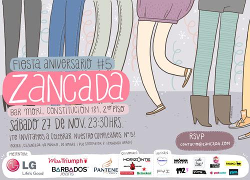 Se viene la fiesta Zancada!!! 3