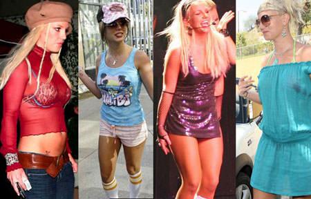 Britney Mal Vestida